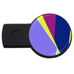 Geometrical abstraction USB Flash Drive Round (2 GB)