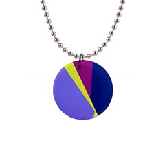 Geometrical abstraction Button Necklaces
