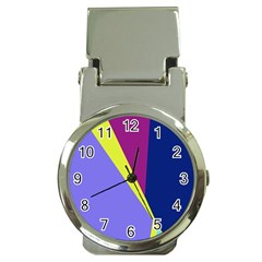 Geometrical abstraction Money Clip Watches