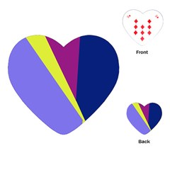 Geometrical abstraction Playing Cards (Heart)