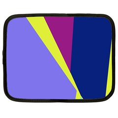 Geometrical abstraction Netbook Case (Large)