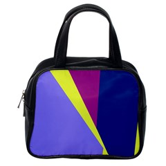 Geometrical abstraction Classic Handbags (One Side)