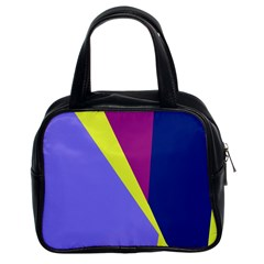 Geometrical abstraction Classic Handbags (2 Sides)