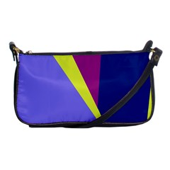 Geometrical abstraction Shoulder Clutch Bags
