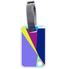 Geometrical abstraction Luggage Tags (One Side)