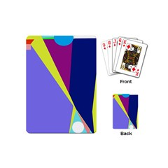 Geometrical abstraction Playing Cards (Mini)