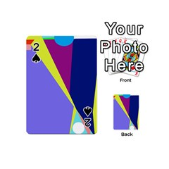 Geometrical abstraction Playing Cards 54 (Mini)