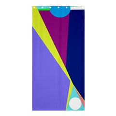 Geometrical abstraction Shower Curtain 36  x 72  (Stall)