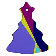 Geometrical abstraction Ornament (Christmas Tree)