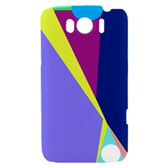 Geometrical abstraction HTC Sensation XL Hardshell Case