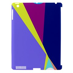 Geometrical abstraction Apple iPad 3/4 Hardshell Case (Compatible with Smart Cover)