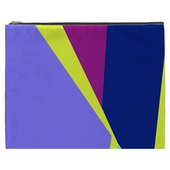 Geometrical abstraction Cosmetic Bag (XXXL)