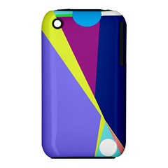Geometrical abstraction Apple iPhone 3G/3GS Hardshell Case (PC+Silicone)