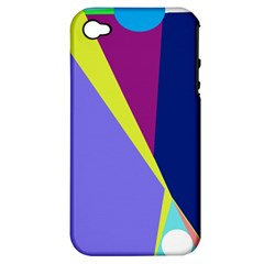 Geometrical abstraction Apple iPhone 4/4S Hardshell Case (PC+Silicone)