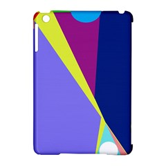 Geometrical abstraction Apple iPad Mini Hardshell Case (Compatible with Smart Cover)