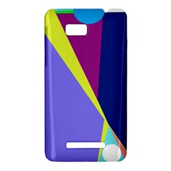 Geometrical abstraction HTC One SU T528W Hardshell Case