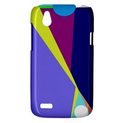 Geometrical abstraction HTC Desire V (T328W) Hardshell Case