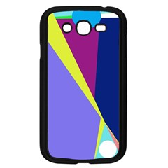 Geometrical abstraction Samsung Galaxy Grand DUOS I9082 Case (Black)