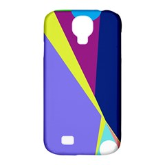 Geometrical abstraction Samsung Galaxy S4 Classic Hardshell Case (PC+Silicone)