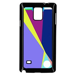 Geometrical abstraction Samsung Galaxy Note 4 Case (Black)