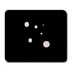 White dots Large Mousepads