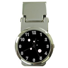 White dots Money Clip Watches
