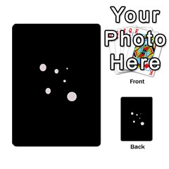 White dots Multi-purpose Cards (Rectangle)