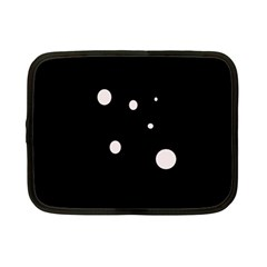 White dots Netbook Case (Small)