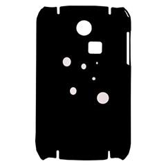 White dots Samsung S3350 Hardshell Case