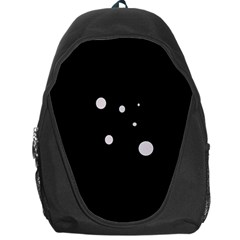 White dots Backpack Bag