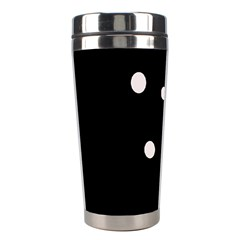 White dots Stainless Steel Travel Tumblers
