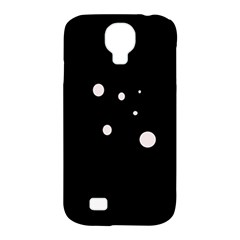 White dots Samsung Galaxy S4 Classic Hardshell Case (PC+Silicone)