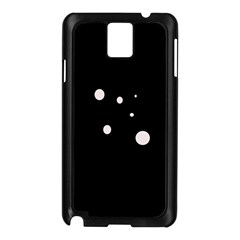 White dots Samsung Galaxy Note 3 N9005 Case (Black)