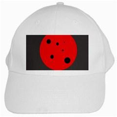 Red circle White Cap