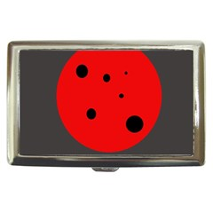Red circle Cigarette Money Cases