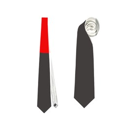 Red circle Neckties (Two Side)