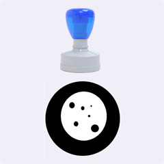 Red circle Rubber Round Stamps (Medium)