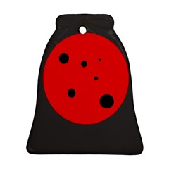 Red circle Ornament (Bell)