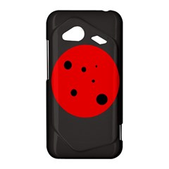Red circle HTC Droid Incredible 4G LTE Hardshell Case