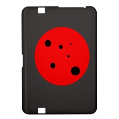 Red circle Kindle Fire HD 8.9