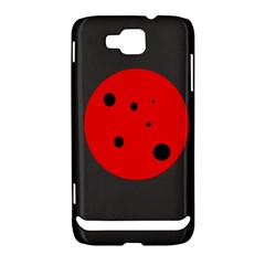 Red circle Samsung Ativ S i8750 Hardshell Case