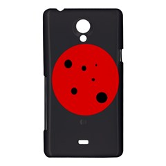Red circle Sony Xperia T