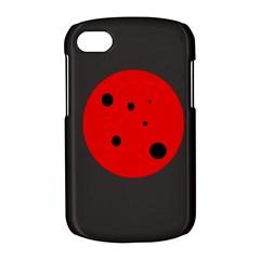 Red circle BlackBerry Q10