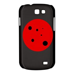 Red circle Samsung Galaxy Express I8730 Hardshell Case