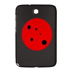 Red circle Samsung Galaxy Note 8.0 N5100 Hardshell Case