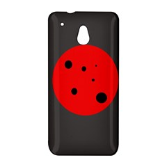 Red circle HTC One Mini (601e) M4 Hardshell Case