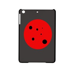 Red circle iPad Mini 2 Hardshell Cases