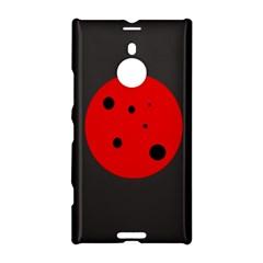 Red circle Nokia Lumia 1520