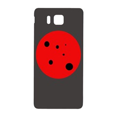 Red circle Samsung Galaxy Alpha Hardshell Back Case