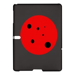 Red circle Samsung Galaxy Tab S (10.5 ) Hardshell Case